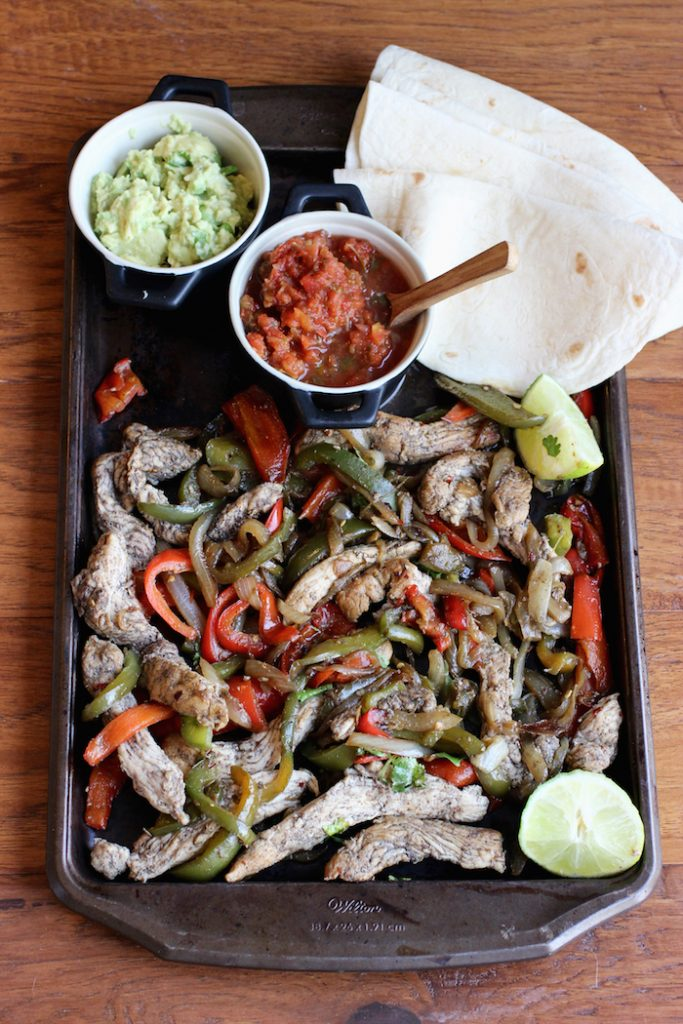 Turkey Fajitas