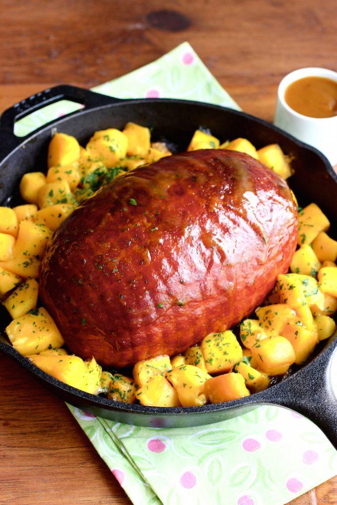Mango Chili Glazed Ham
