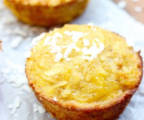 Simple Ripe Plantain and Coconut Mini Cakes