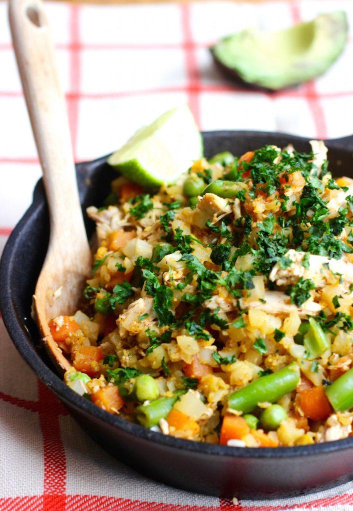Cauliflower Rice with Chicken