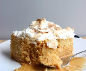 Torta Tres leches de Arequipe